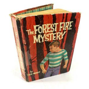The Forest Fire Mystery Vintage 1962 Hardcover 1st